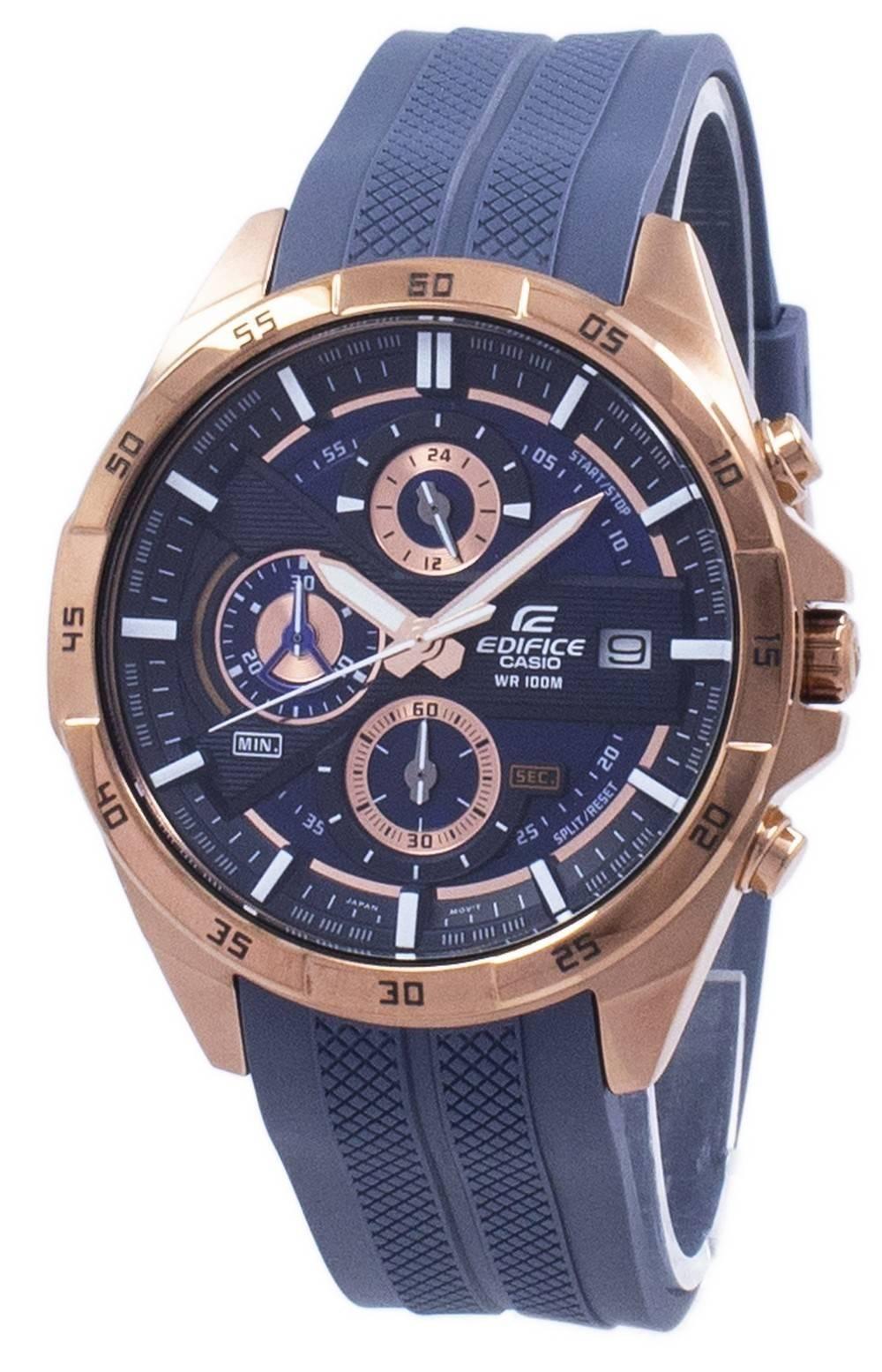 3b5db48d4568 Detalles acerca de Casio Edifice Cronógrafo de cuarzo Reloj para hombre EFR-556PC-2AV  EFR556PC-2AV- mostrar título original
