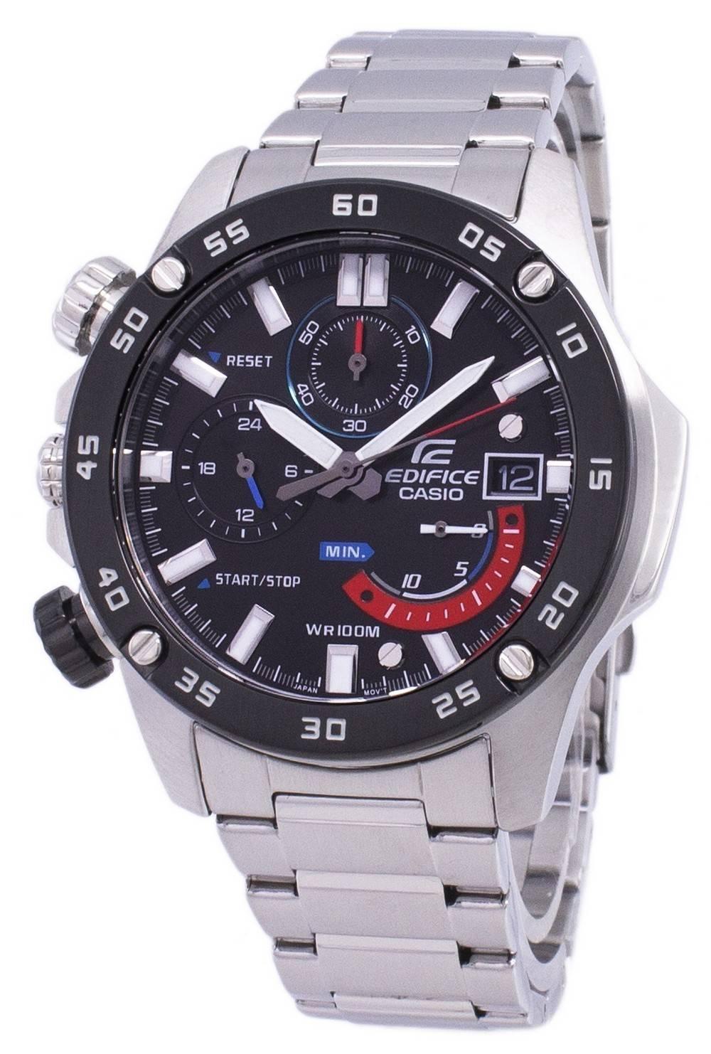 ddc9a8c6d883 Details about Casio Edifice Chronograph Quartz EFR-558DB-1AV EFR558DB-1AV  Mens Watch