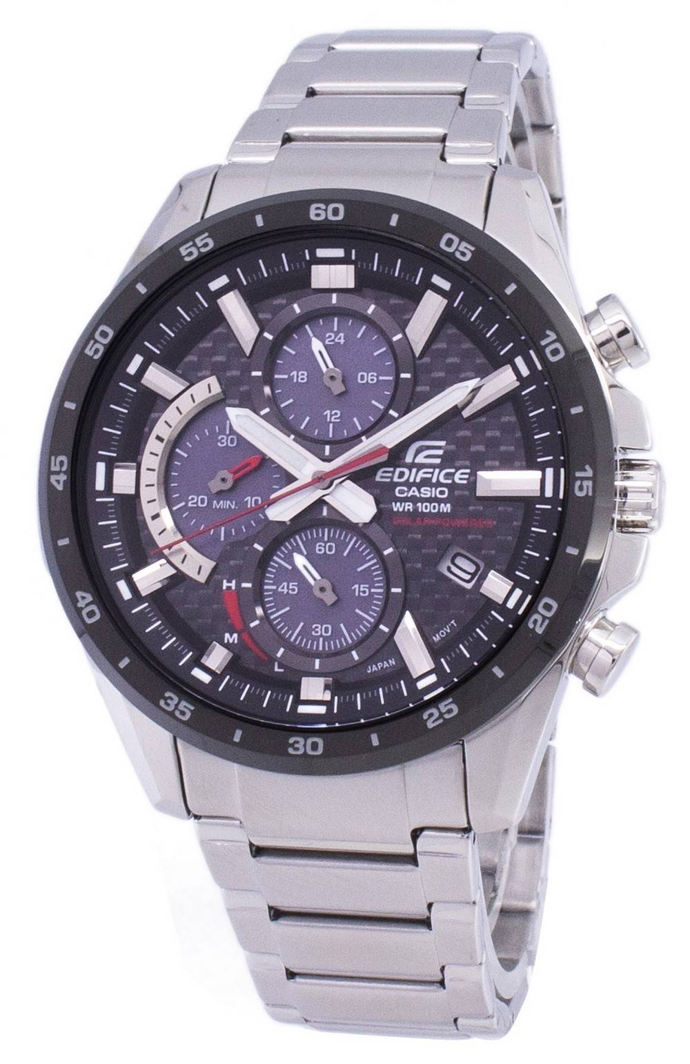 a638336c0abf Detalhes sobre Casio Edifice Chronograph Solar EQS900DB-1AV EQS-900DB-1AV  Mens Watch