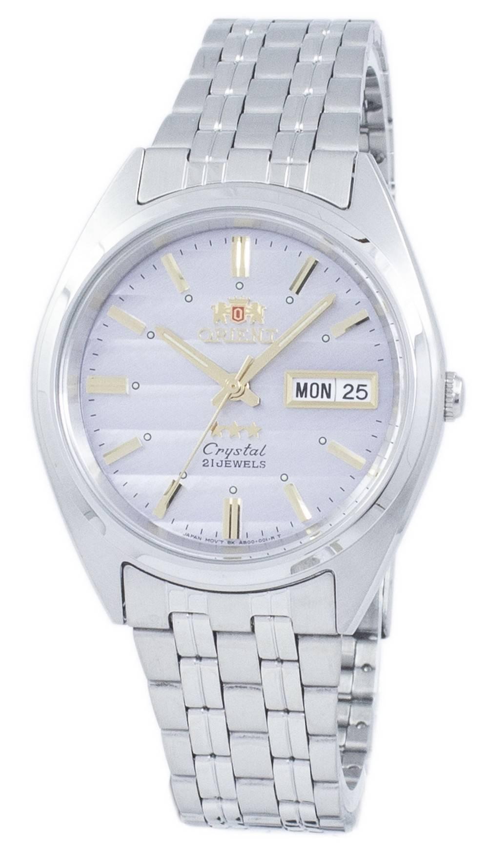 7212b50d358 Orient 3 Star Crystal Automatic FAB0000DK9 Mens Watch 751744859828 ...
