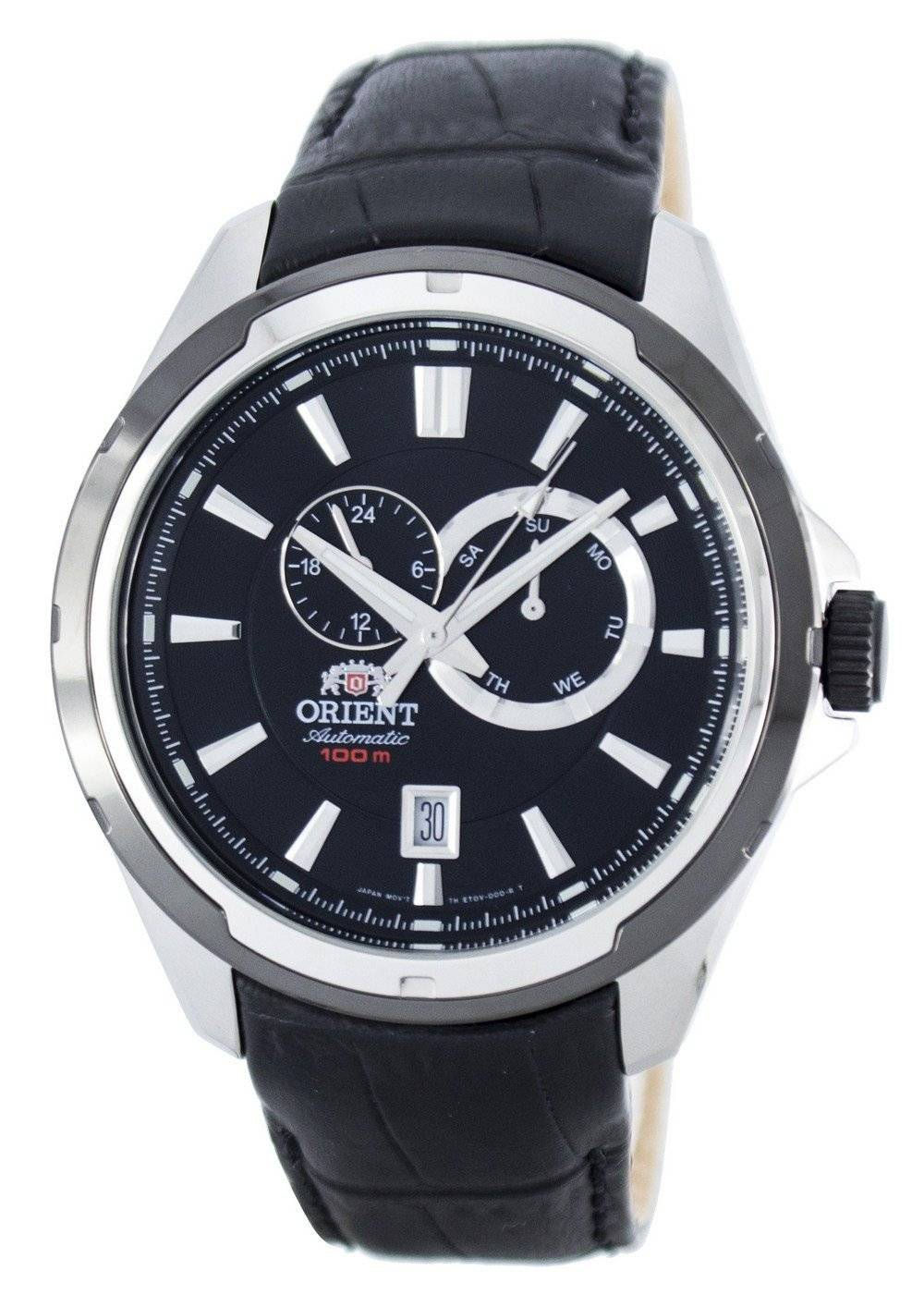 8960eb20b0c Detalhes sobre Orient Sporty Automatic Power Reserve FET0V003B0 Mens Watch.  Ver anúncio original