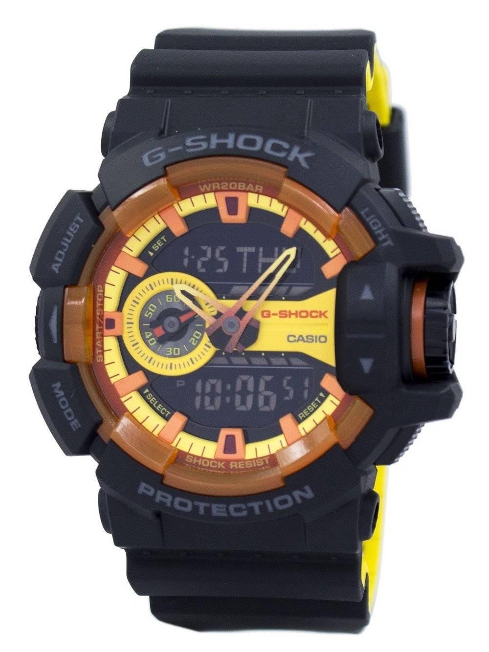 efb71d4f9adc Casio G-Shock Shock Resistant Analog Digital GA-400BY-1ADR GA400BY-1ADR  Men s Watch