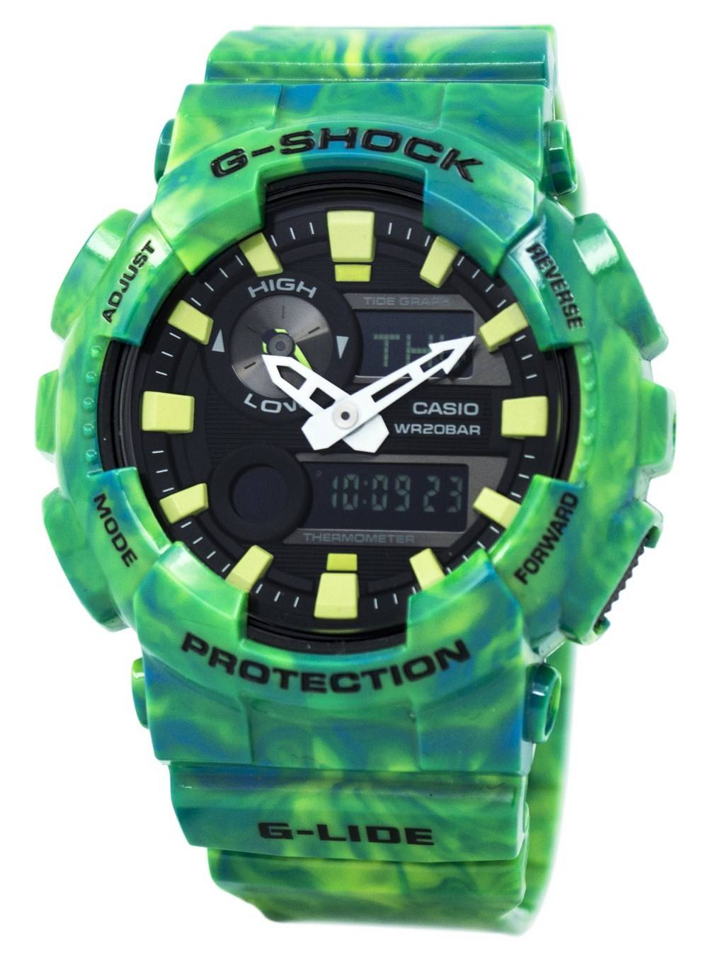 f07366f1dd1d Casio G-Shock G-Lide Analog Digital GAX-100MB-3A GAX100MB-3A Men s Watch