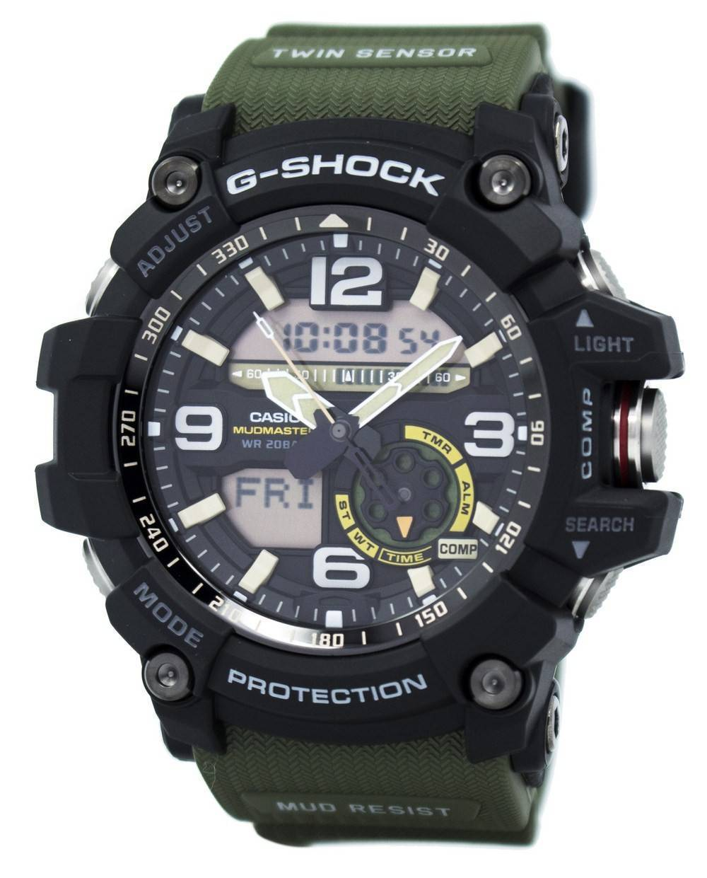 Casio-G-Shock-Mudmaster-Analog-Digital-Twin-Sensor-GG-1000-1A3-Mens-Watch