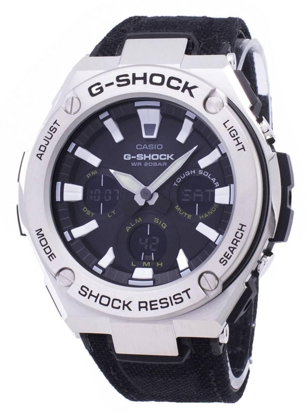 07fab2f43b93 Reloj Casio G-Shock GST-S130C-1A Iluminador analógico digital de cuarzo  200M para hombres