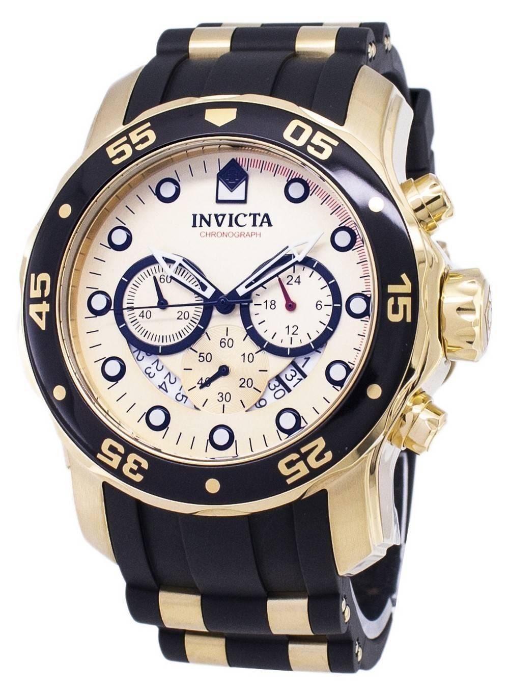 4fa16bfecc82 Invicta Pro Diver 17566 cronógrafo de cuarzo reloj para hombre