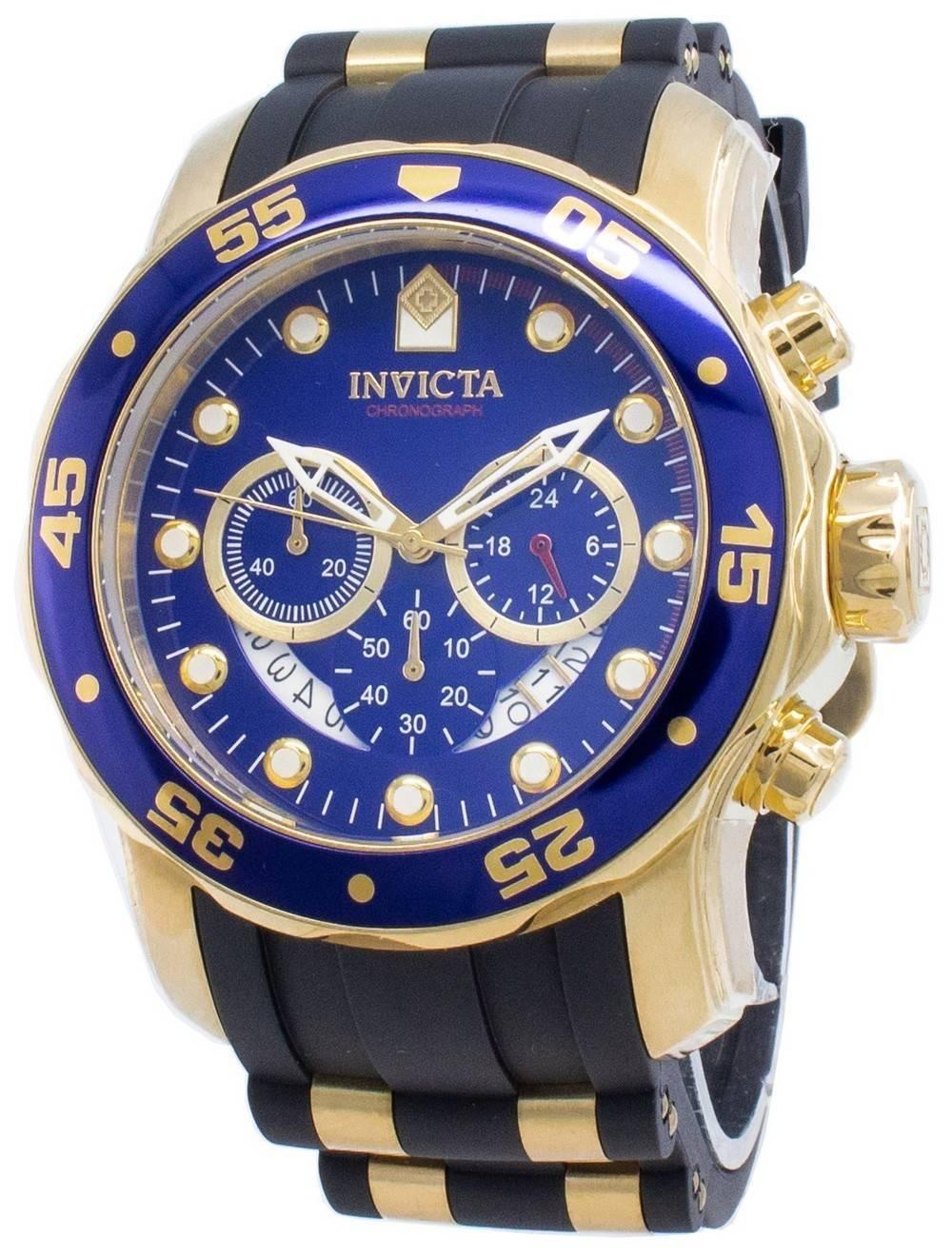 cbe2903ce69 Relógio Invicta Pro Diver quartzo cronógrafo 6983 masculino pt