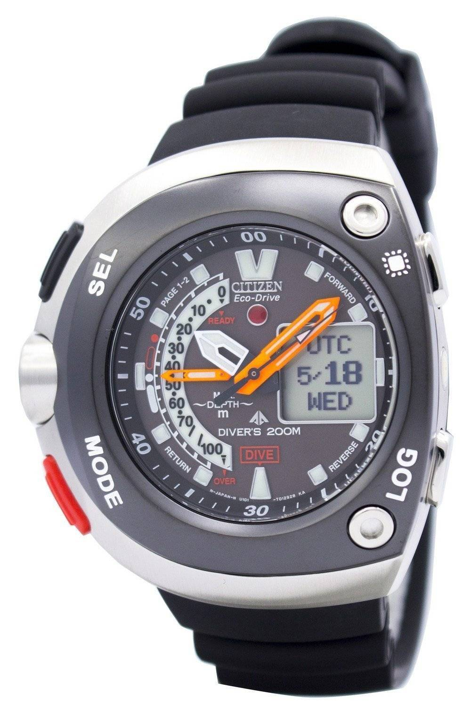 Citizen promaster eco drive aqualand divers jv0020 04e watch ebay - Citizen promaster dive watch ...