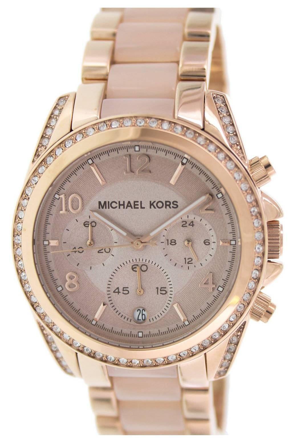 michael kors blair chronograph crystals mk5943 s