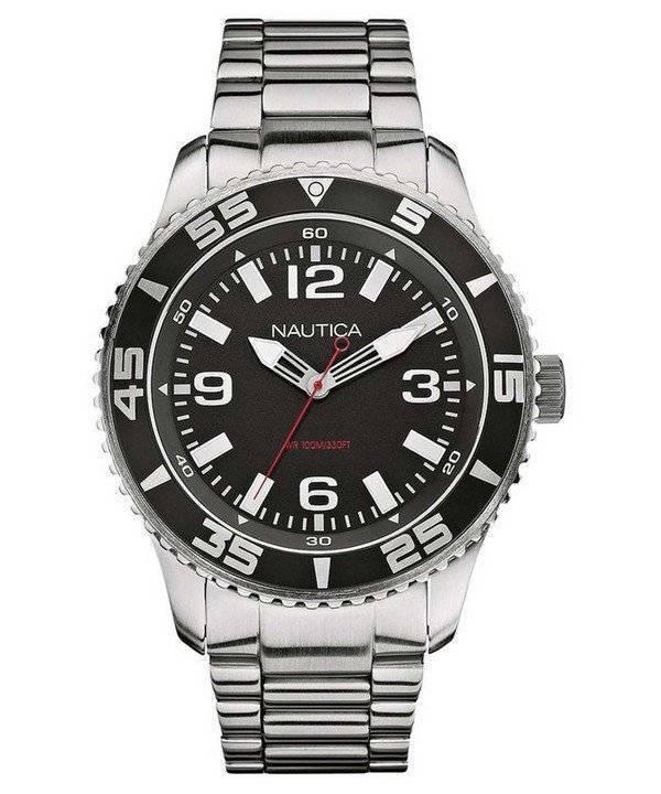 b604fb49167 Relógio Nautica 3-mão N11554G analógico masculino pt