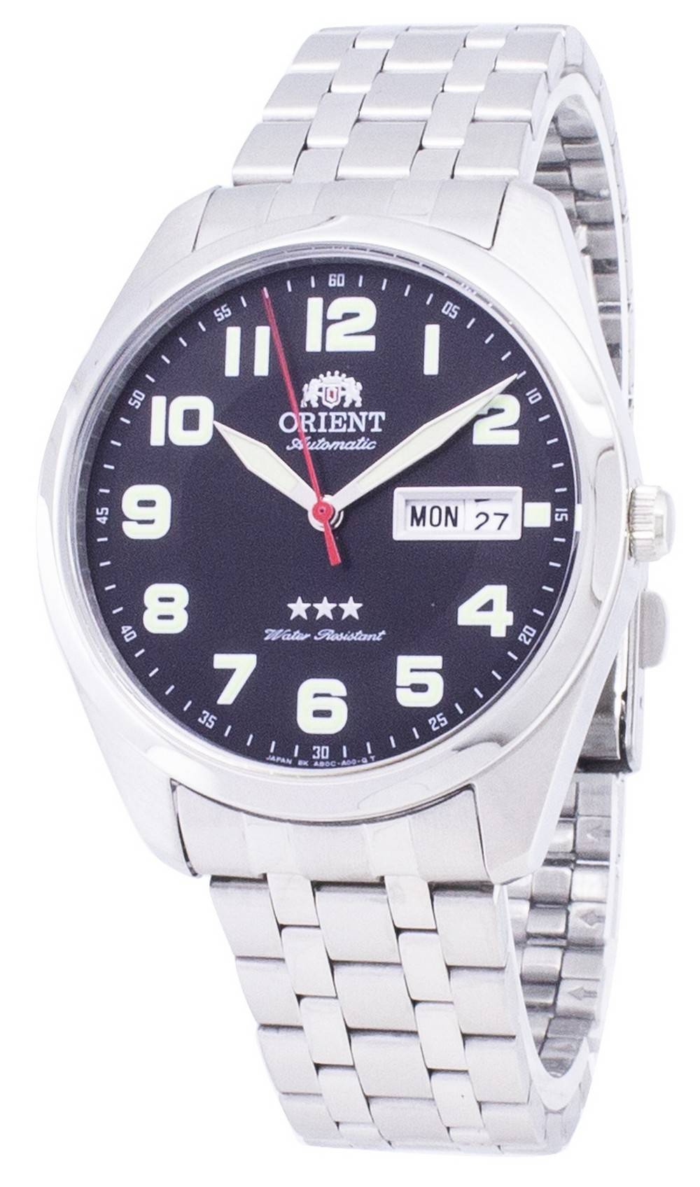 68c29e25347 Details about Orient 3 Star SAB0C006B9 Automatic Japan Made Mens Watch