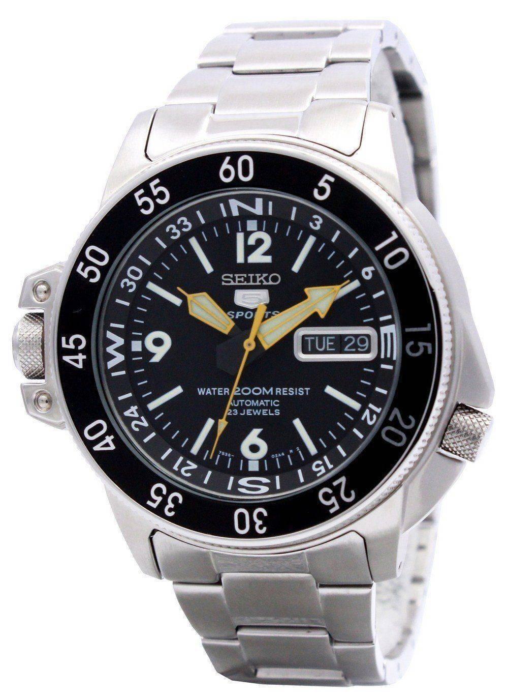 e4e300939d37 Reloj de hombre Seiko 5 con medidor de mapa automático SKZ211 SKZ211K1  SKZ211K