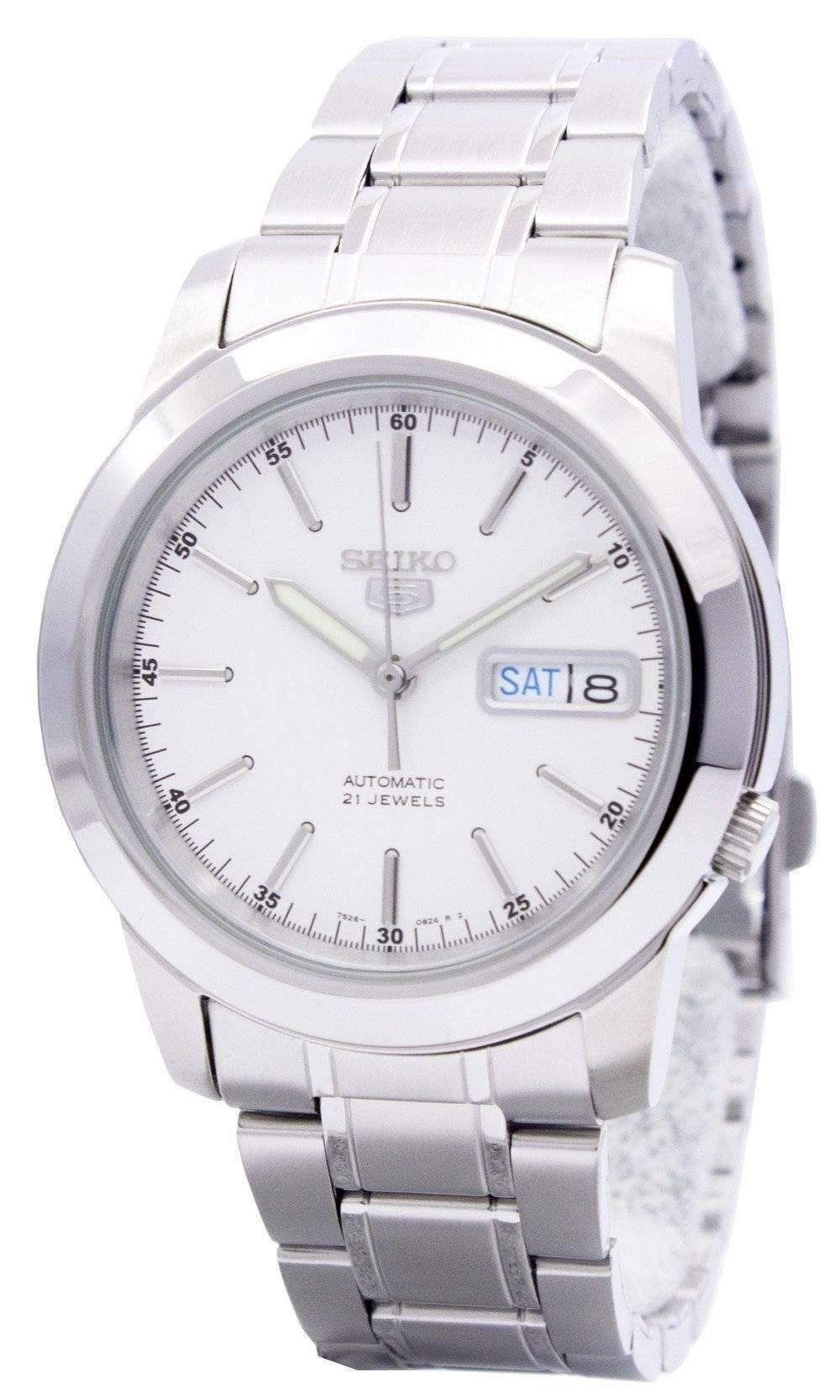 24dabc06729f Reloj de hombre Seiko 5 automático 21 joyas SNKE49 SNKE49K1 SNKE49K ...