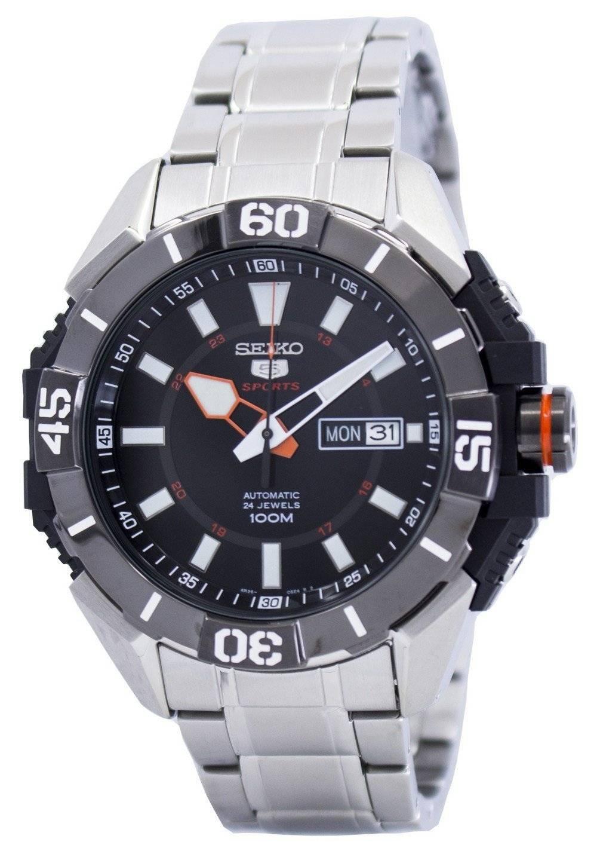 4a48b2437a9d Seiko 5 Sports Automatic 24 Jewels SRP795 SRP795K1 SRP795K Reloj para hombre