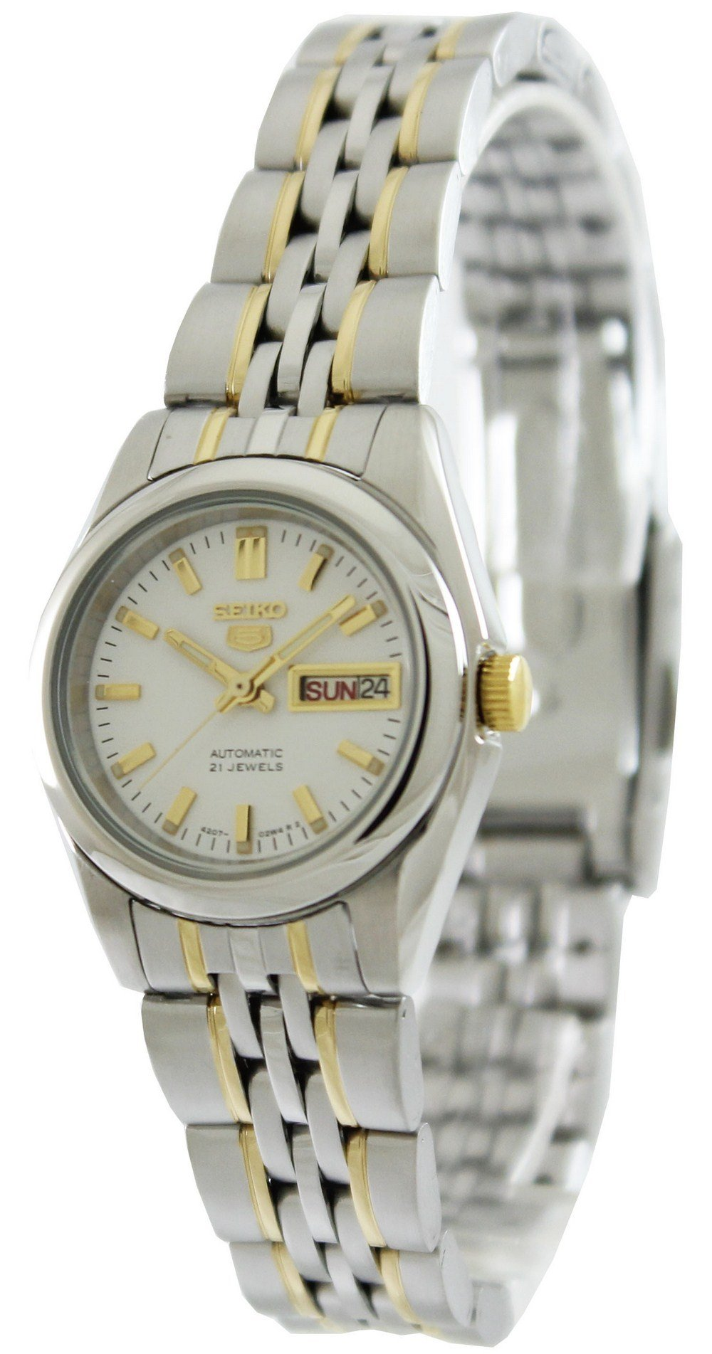 Seiko-5-Automatic-21-Jewels-SYMA35K1-SYMA35K-SYMA35-Women-039-s-Watch