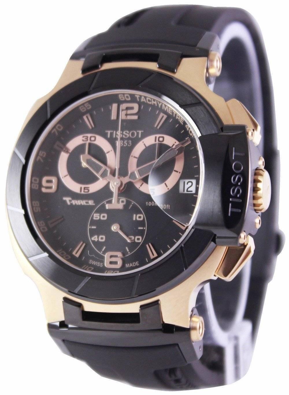 c04f6f76141 Details about Tissot T-Race Chronograph T048.417.27.057.06 Men s Watch
