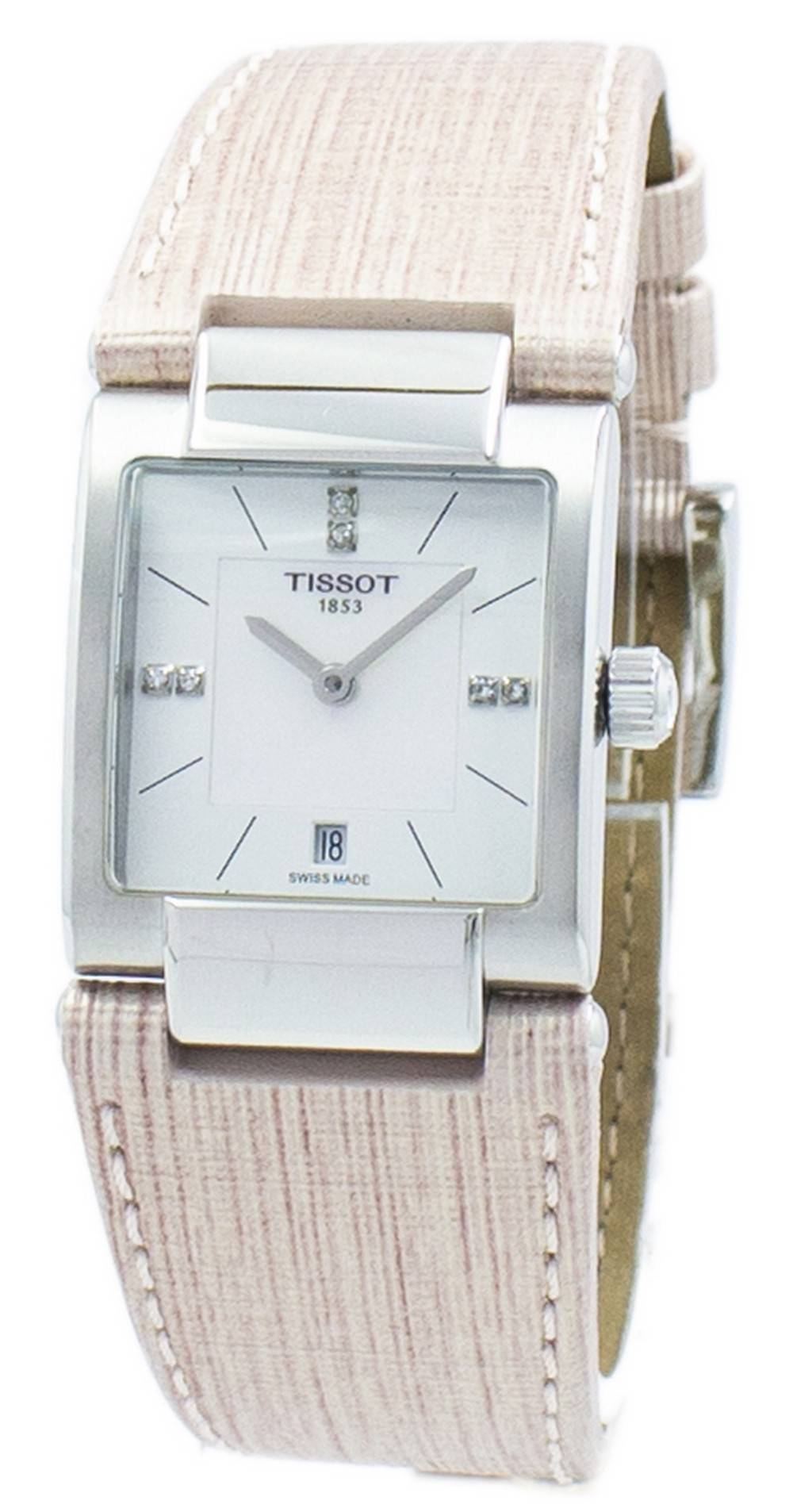 434aaae1431 Details about Tissot T-Lady T02 Quartz Diamond Accent T090.310.16.116.00  Womens Watch