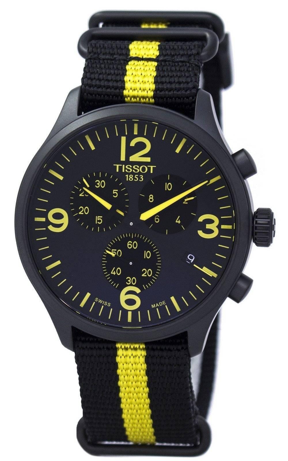 Tissot-Chrono-XL-Tour-De-France-Special-Edition-T116-617-37-057-00-Men-039-s-Watch