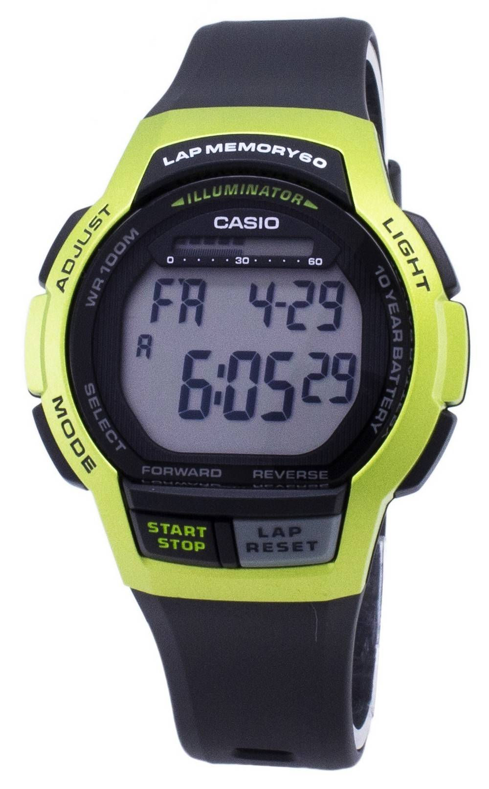 Casio Youth WS 1000H 3AV WS1000H 3AV Illuminator Reloj digital para hombre