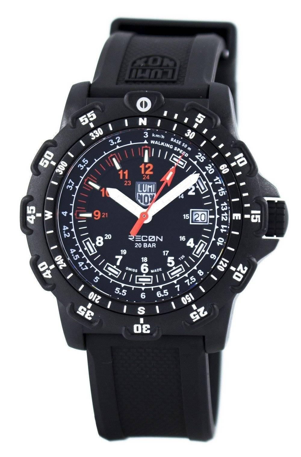 Luminox Land Recon Point Man 8820 Series Swiss Quartz 200M XL.8821.KM Men's Watch