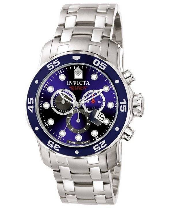 pro diver chronograph 200m 0070 men s watch invicta pro diver chronograph 200m 0070 men s watch