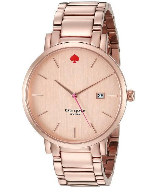 Kate Spade New York Gramercy Grand Rose Gold 1YRU0641 Women's Watch - Click Image to Close