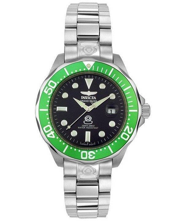 Invicta Pro Grand Diver Automatic 300M 3047 Men's Watch - Click Image to Close