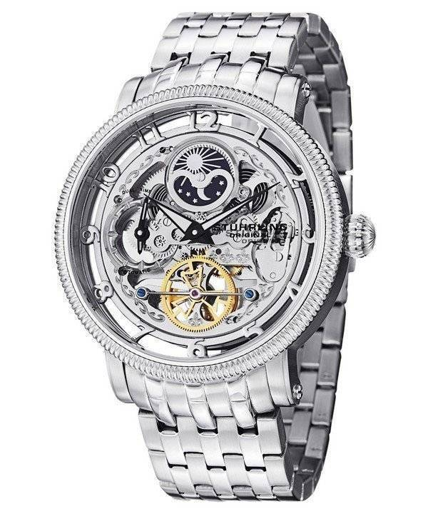 Stuhrling Original Symphony Automatic Silver Dial Stainless Steel 411.33112 Men's Watch - Click Image to Close