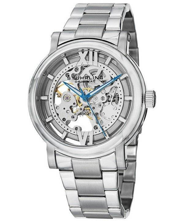 Stuhrling Original Winchester XT Elite Automatic Skeleton Dial 426A.01 Men's Watch - Click Image to Close