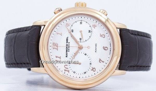 Raymond Weil Geneve Maestro Chronograph Automatic 4830-PC5-05658 Men's Watch - Click Image to Close