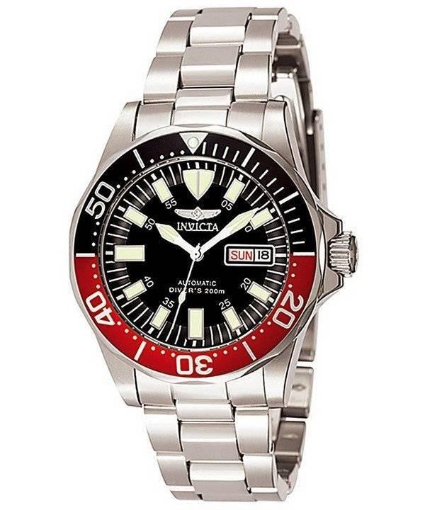 Invicta Signature Automatic Diver's 200M 7043 Men's Watch - Click Image to Close