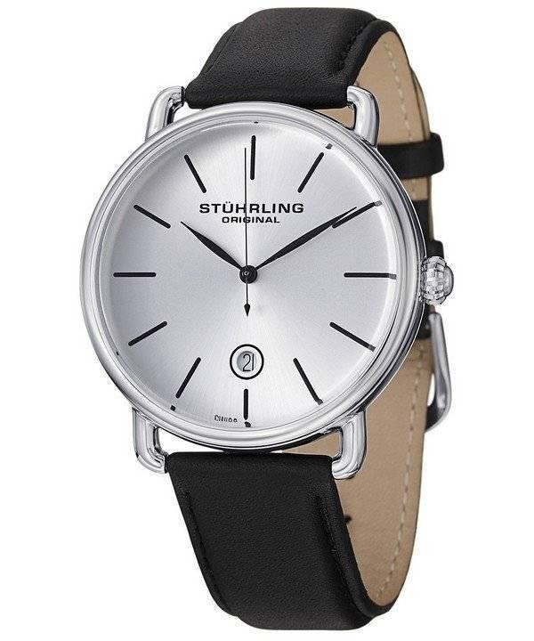 Stuhrling Original Ascot Swiss Quartz 768.01 Men's Watch - Click Image to Close
