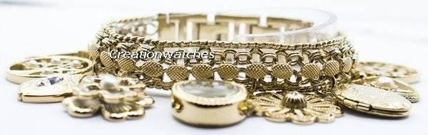 Anne Klein Quartz Swarovski Crystal 8096CHRM Women's Watch - Click Image to Close