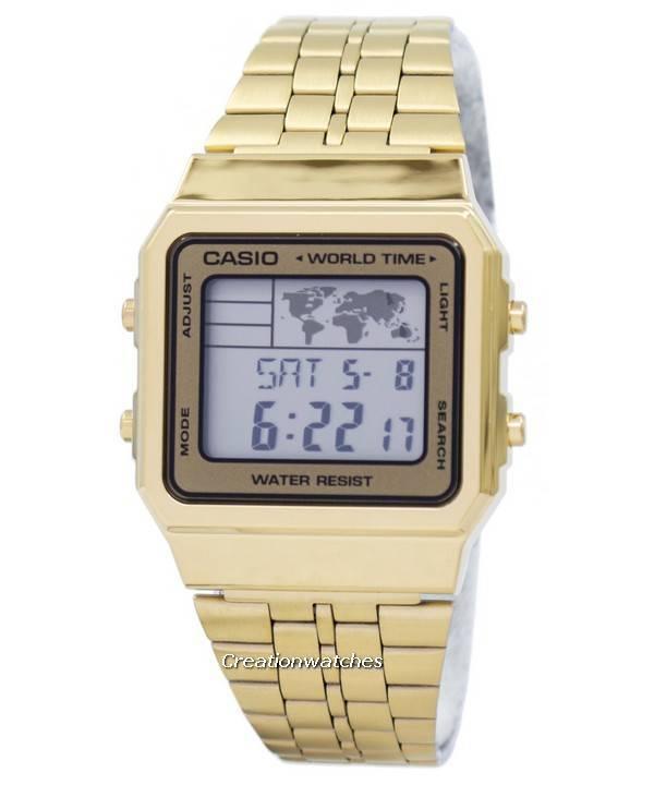 Casio alarm world time digital a500wga 9df mens watch gumiabroncs Images