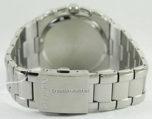 Citizen Quartz Chronograph Retrograde AN9000-53H Men's Watch - Click Image to Close