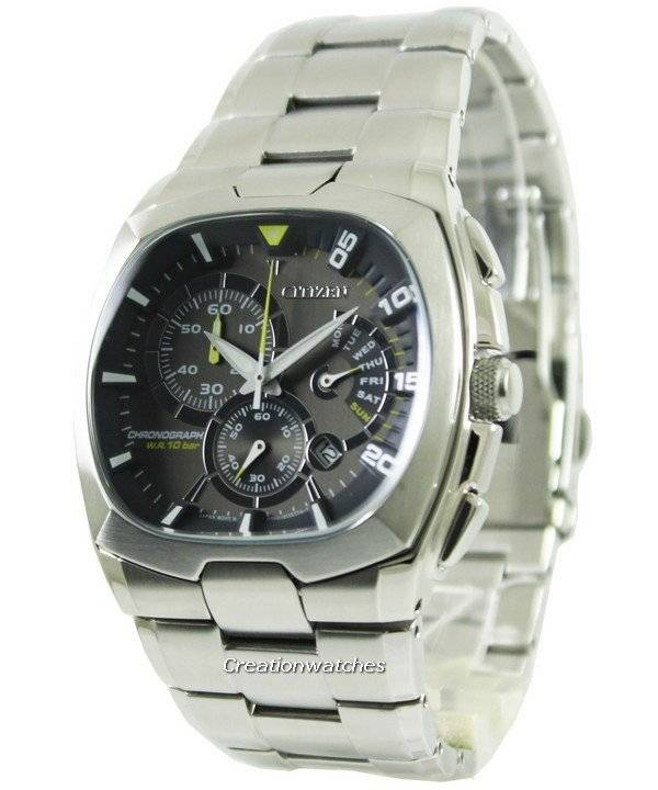 Citizen Quartz Chronograph Retrograde AN9000-53H Men's Watch - Click Image to Close