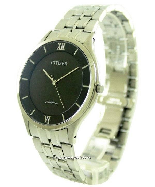 Citizen Eco-Drive Stiletto Super Thin AR0071-59E Men's Watch - Click Image to Close