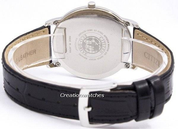 Citizen Eco-Drive Stiletto Super Thin AR1110-11B Men's Watch - Click Image to Close