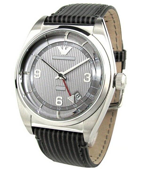 Emporio Armani Classic Textured Grey Dial AR1628 Men's Watch - Click Image to Close