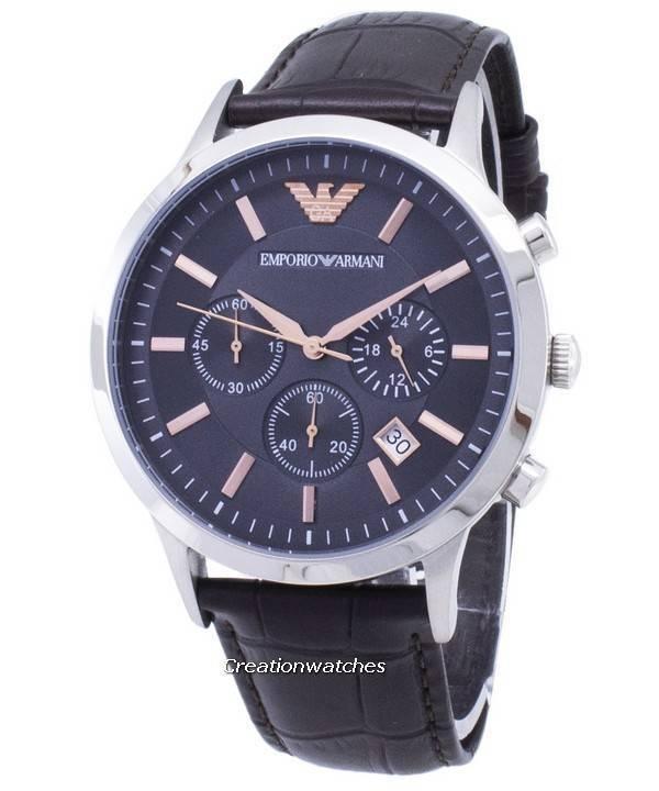 Emporio Armani Renato Chronograph Quartz AR2513 Men's Watch - Click Image to Close