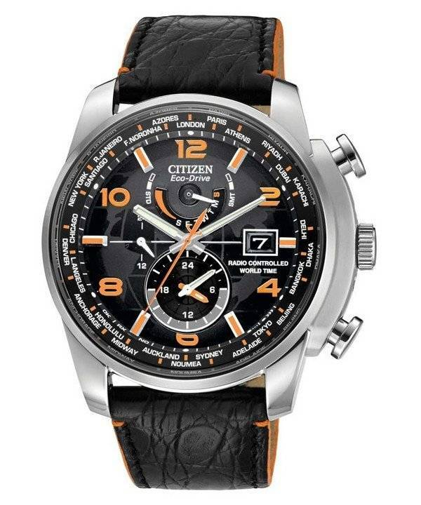 Citizen Eco-Drive Atomic World Time Limited Edition AT9010-28F - Click Image to Close