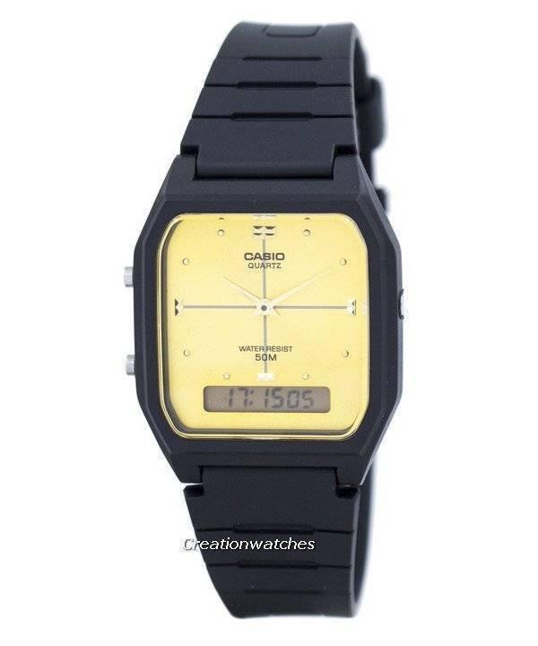 Casio Analog Digital Quartz Dual Time AW-48HE-9AVDF AW48HE-9AVDF Men's Watch - Click Image to Close