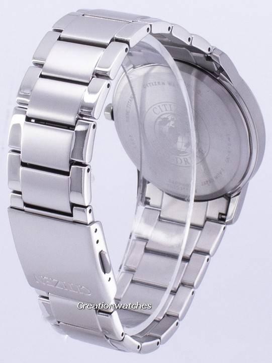 Citizen Eco-Drive Titanium AW2020-82L Men's Watch - Click Image to Close