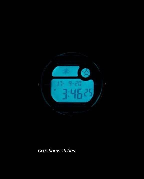 Casio Baby-G Shock Resistant Digital World Time Quartz BG-169R-7E BG169R-7E Women's Watch - Click Image to Close
