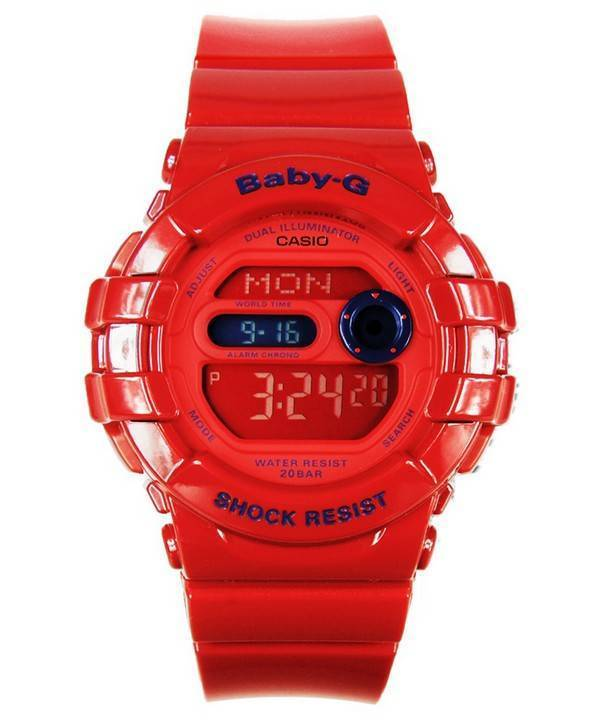 Casio Baby-G Dual Illuminator BGD-140-4 Womens Watch - Click Image to Close