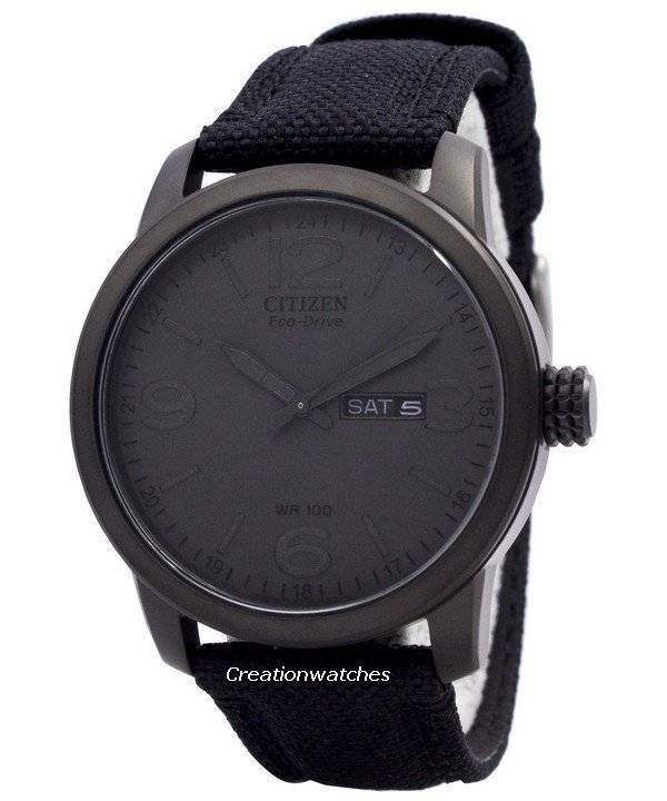 Citizen Eco Drive Nylon Strap BM8475-00F Men's Watch - Click Image to Close