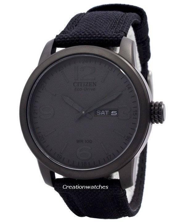 Citizen Eco Drive Nylon Strap BM8475-00F Men's Watch - Click Image to Close