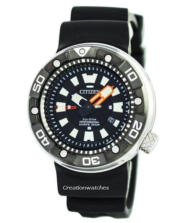 Citizen promaster eco drive pro divers 300m dlc japan made bn0176 08e mens watch ebay - Citizen promaster dive watch ...