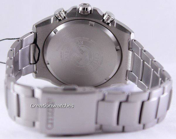 Citizen Eco-Drive Titanium Chronograph CA0550-52E Men's Watch - Click Image to Close