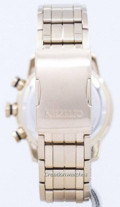 Citizen Eco-Drive Chronograph Tachymeter Analog CA4086-56E Men's Watch - Click Image to Close